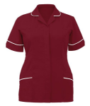 Ladies Classic Step in Dress (Sizes 8 - 30, 13 Colours or Variations, Burgundy,Eau de Nil, Hospital Blue, Lilac, Metro Blue)